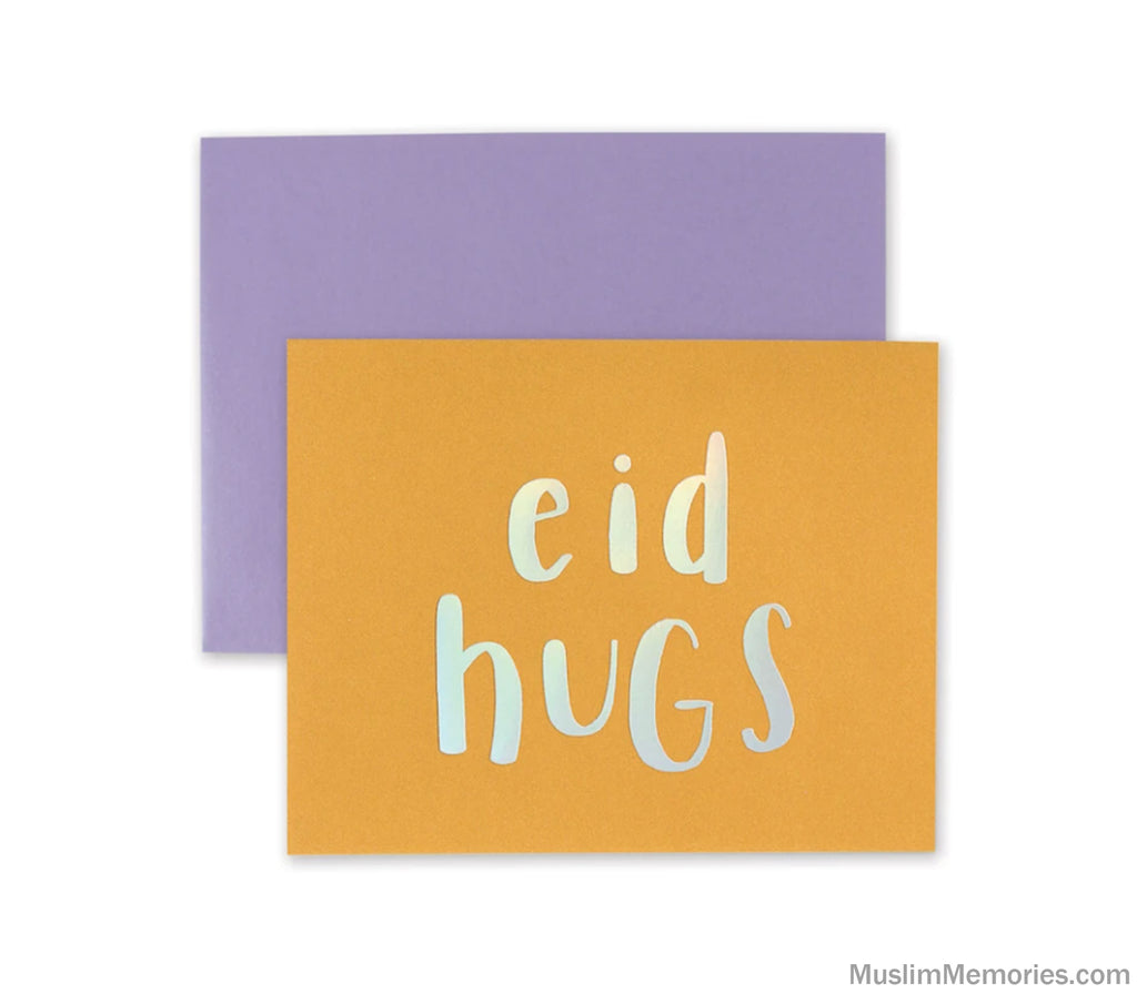 Eid Hugs Card- Set of 8
