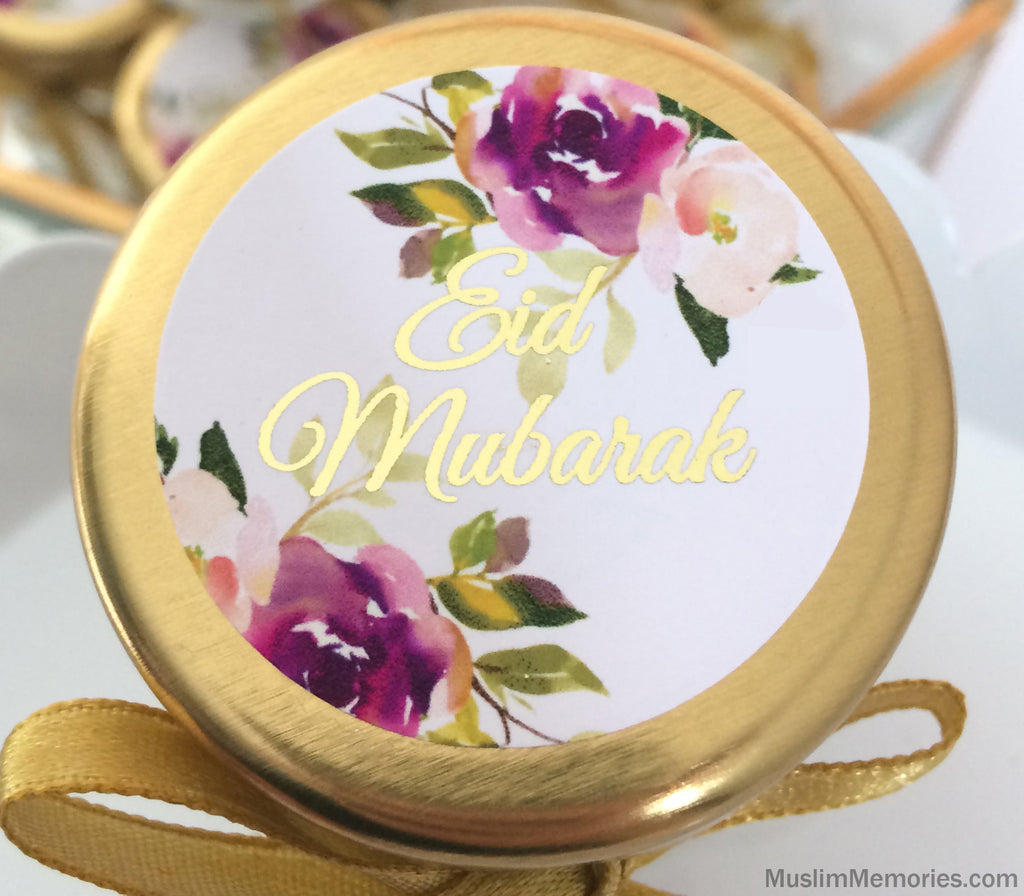 Eid Mubarak Stickers- 20 pieces