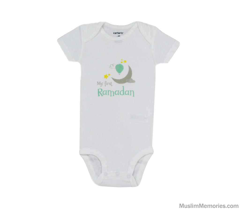 My First Ramadan (Moon & Balloon) Onesie