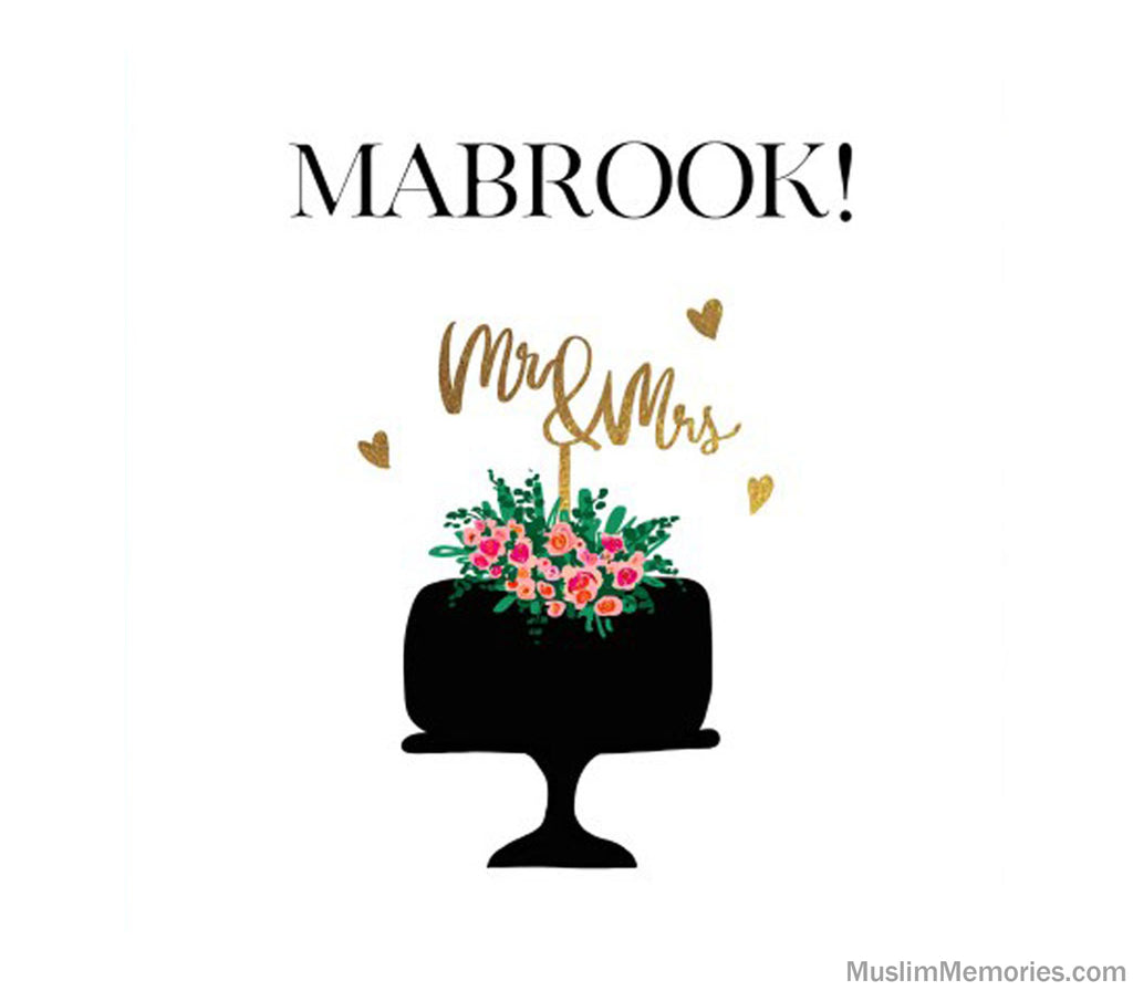 Mabrook Mr & Mrs Card