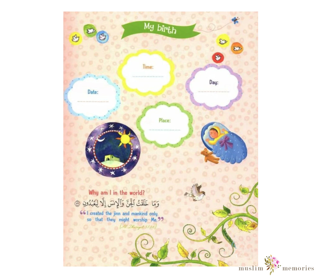 Muslim Baby Book For Boys (Hardcover)