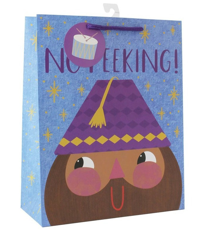 No Peeking Gift Bag