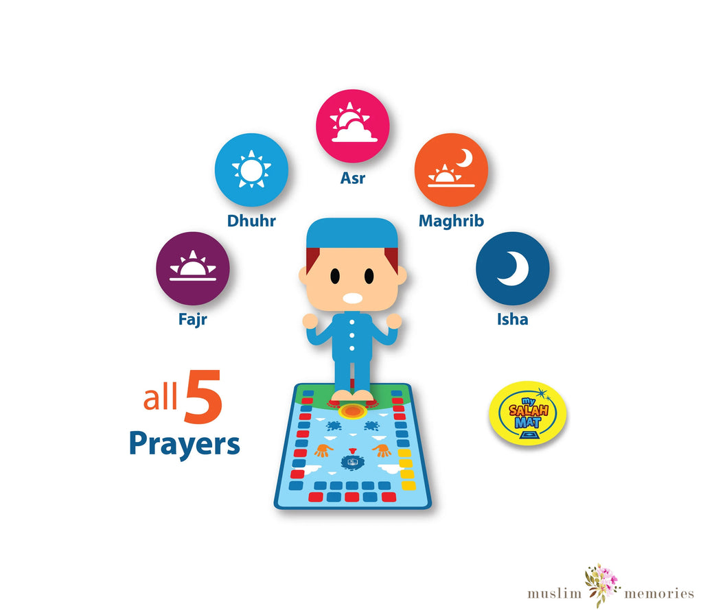 New My Salah Mat - Educational Interactive Prayer Mat Now With 5 Prayers