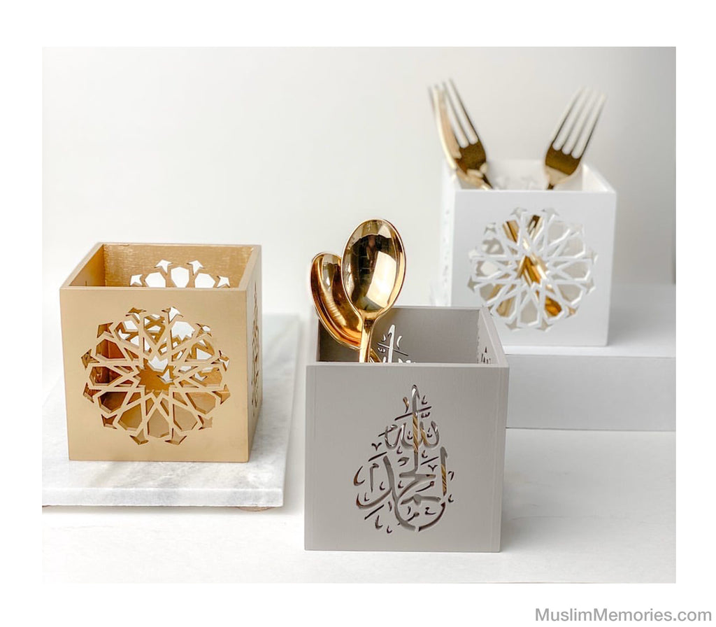 Multipurpose Wooden Decor (Alhamdulillah) - Muslim Memories