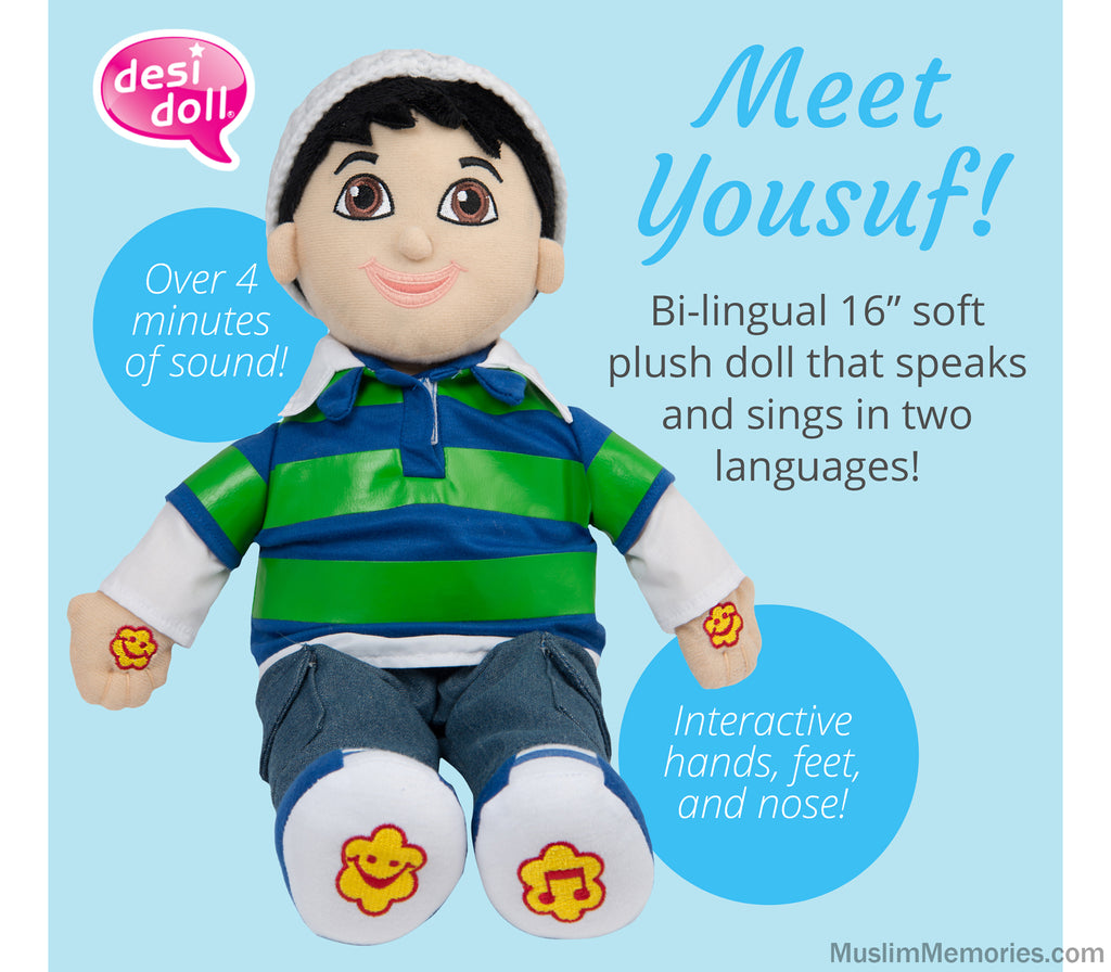 Yousuf Doll- English/Arabic Speaking
