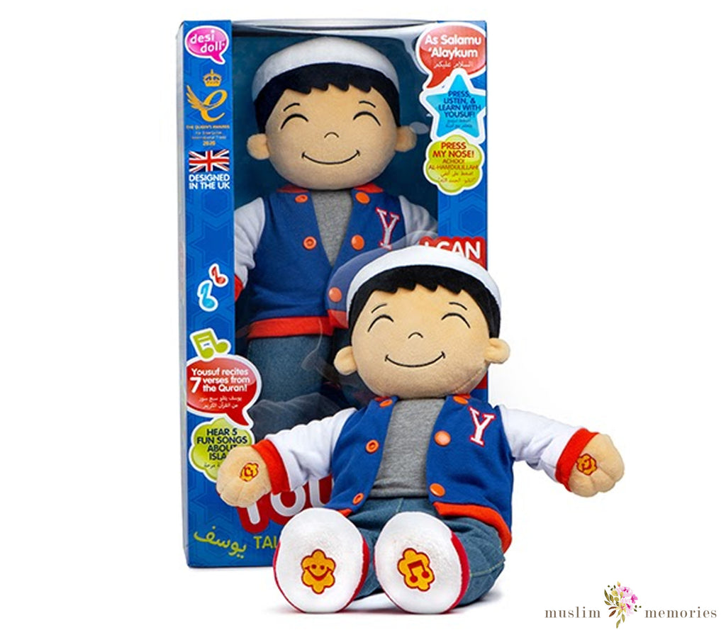New Yousuf Talking Doll Listen & Learn with Yousuf!