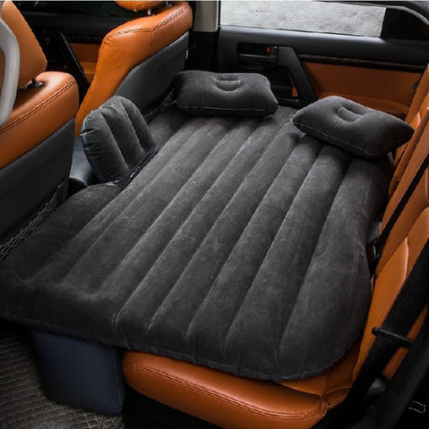 Universal Car Backseat Air Mattress with Pump - Grizzly Gear Co.