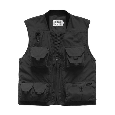 Multi-pocket Fishing Vest - Grizzly Gear Co.