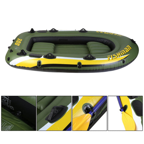 Inflatable Row Boat - Grizzly Gear Co.
