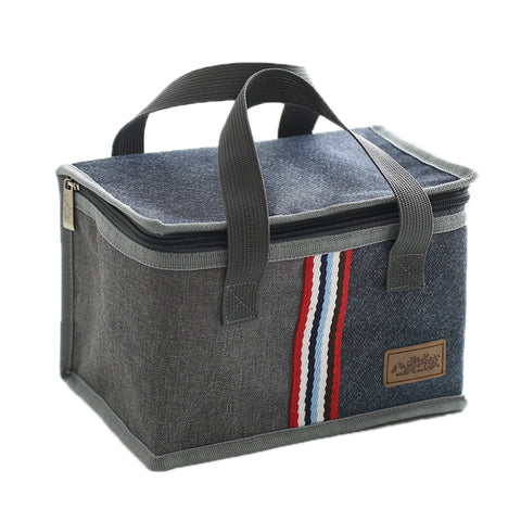 Insulated Denim Cooler - Grizzly Gear Co.