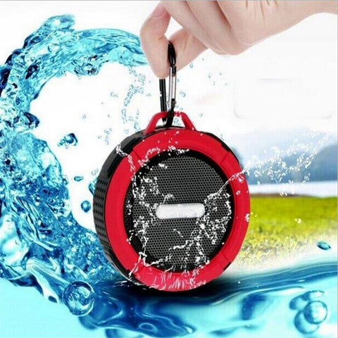 Waterproof Wireless Bluetooth Speaker with Carabiner - Grizzly Gear Co.
