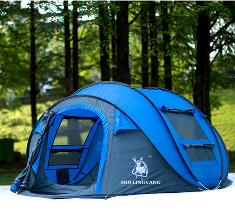 No Assembly Instant Tent - Grizzly Gear Co.