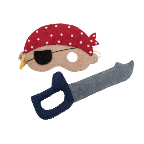 Pirate set mask and sword