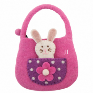 Easter Bunny Finger Puppet Bag