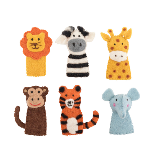 African Finger Puppets - individual
