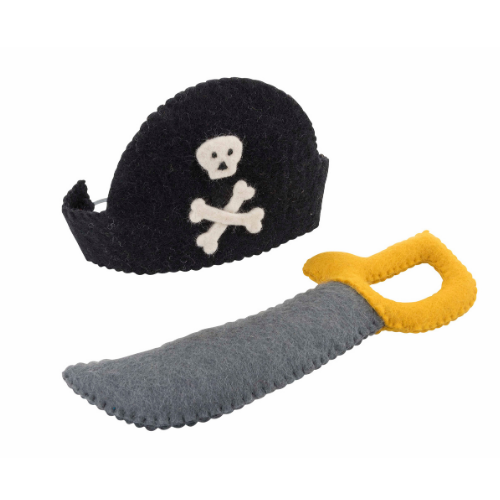 Pirate Captain Mask and Sword Set