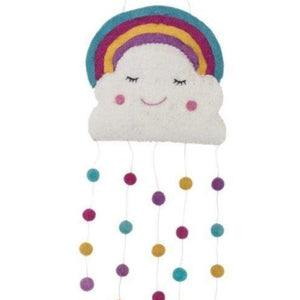 Shop Cloud and Rainbow Wall Hanging Online | Pashom