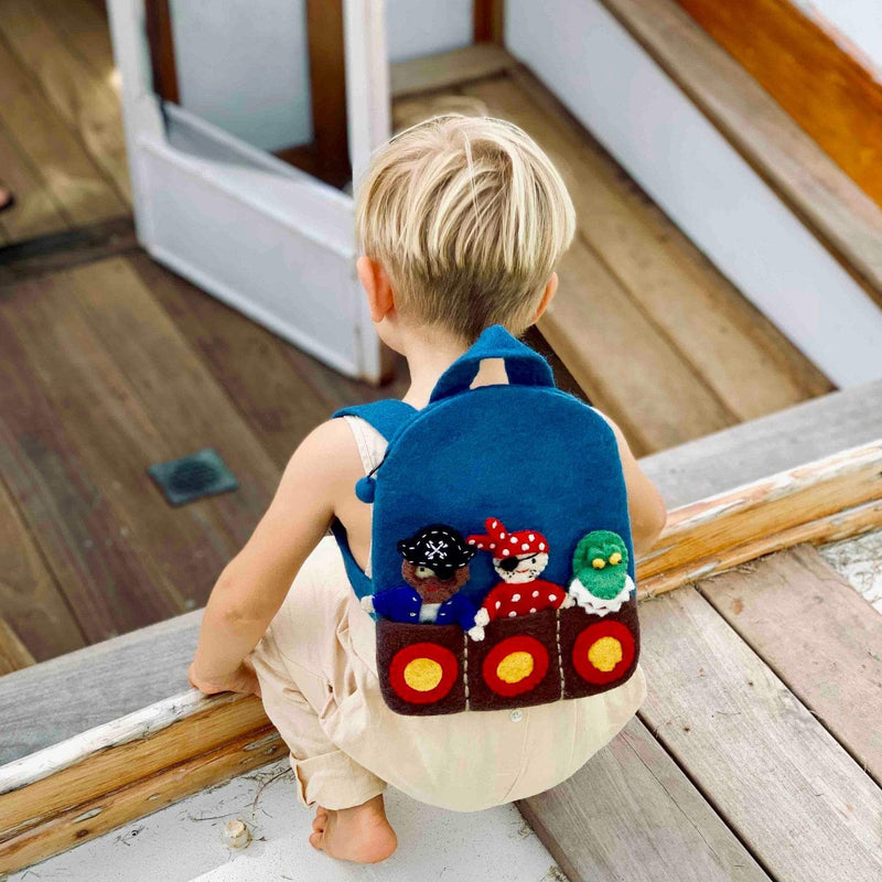 Cute Pirate Backpack
