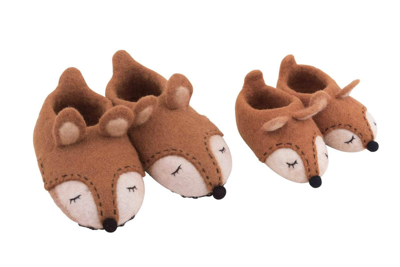 Great Selection of Fox Slippers for Kids | Pashom