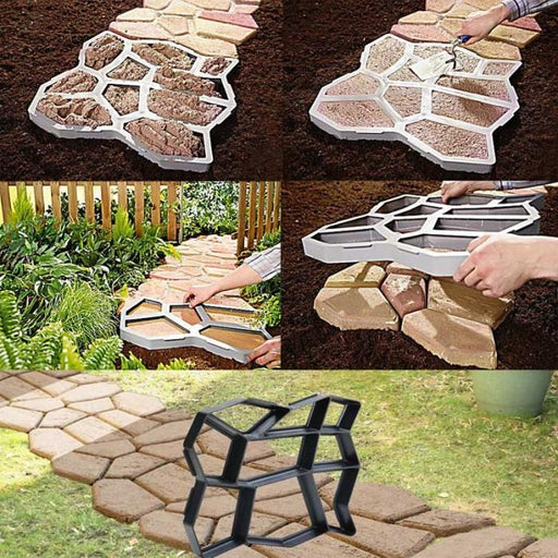 GARDEN PATH MAKER - PAVING MOULD