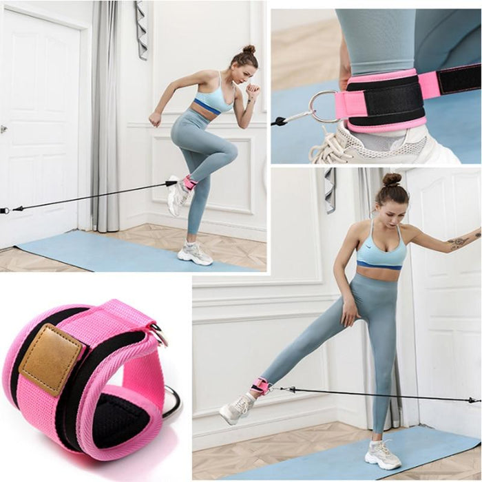 11 PC PREMIUM RESISTANCE BANDS SET