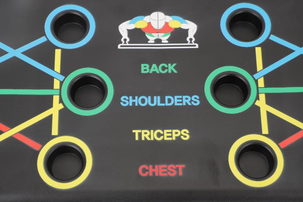 9 IN 1 PUSH UP BOARD - SUPER EFFICIENT