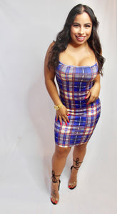 School Girl Bodycon Dress