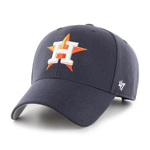 Houston Astros 47 Brand Cap Adjustable Navy MVP Hat MLB