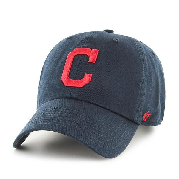'47 MLB Cleveland Indians Clean Up Adjustable Hat