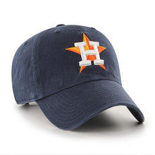 Load image into Gallery viewer, Houston Astros Navy 47 Brand Clean Up Dad Hat