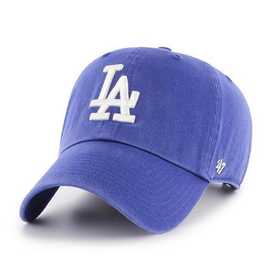 MLB Los Angeles Dodgers 47 Clean up Adjustable Hat Royal One Size - City Limit NY