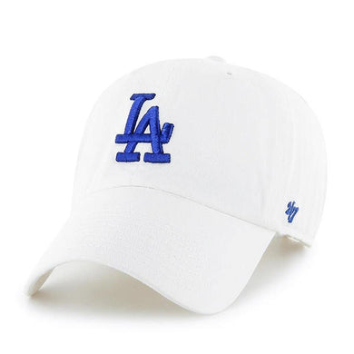 Los Angeles Dodgers Clean Up White 47 Brand Adjustable Hat - City Limit NY