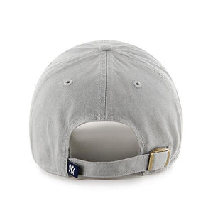 '47 Brand New York Yankees Clean Up Hat Cap Light Grey/White - City Limit NY