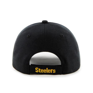 '47 Pittsburgh Steelers Black MVP Hat