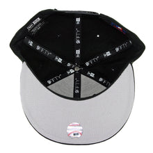 Load image into Gallery viewer, New York Yankees NY New Era MLB 9FIFTY Black white Snapback Hat Cap