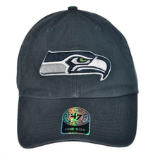 Load image into Gallery viewer, Seattle Seahawks NFL Clean Up Strapback Baseball Cap Dad Hat