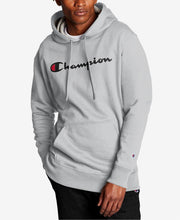 Load image into Gallery viewer, Champion Men's Oxford Script Logo Powerblend Hoodie - City Limit NY