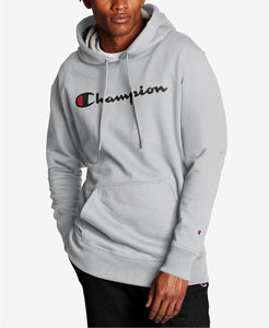 Champion Men's Oxford Script Logo Powerblend Hoodie - City Limit NY