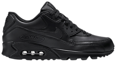 Air Max 90 Leather 'Black'