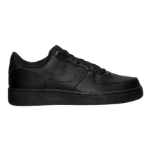 Load image into Gallery viewer, BIG KID'S NIKE AIR FORCE 1 LOW (GS) 314192-006 BLACK/BLACK