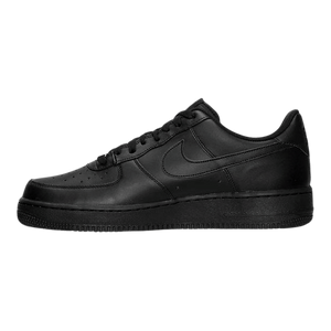 BIG KID'S NIKE AIR FORCE 1 LOW (GS) 314192-006 BLACK/BLACK