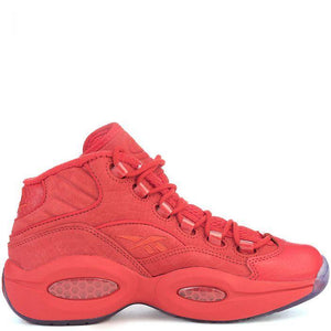 Question Mid Basketball lifestyle sneaker Red/Ice
