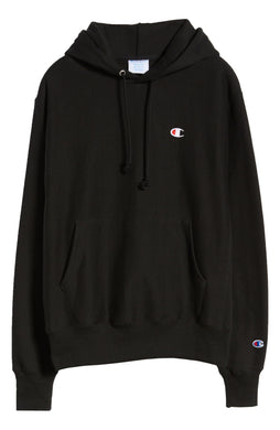 Champion Men's Life Reverse Weave Pullover Hoodie Black