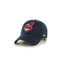 Load image into Gallery viewer, '47 Brand Cleveland Indians Clean Up Hat - Navy