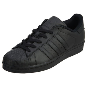 Adidas Men's Superstar Casual Shoes, Black - City Limit NY