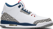 Load image into Gallery viewer, Air Jordan 3 Retro OG BG 'True Blue' 2016 Style Number 854261-106