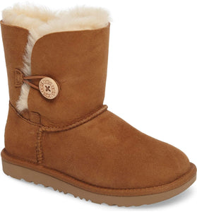 UGG Kids Bailey Button II (Big Kids) Chestnut - City Limit NY