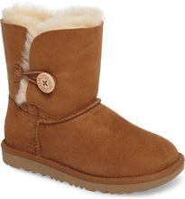 Load image into Gallery viewer, Bailey Button II Water Resistant Genuine Shearling Boot Toddlers - City Limit NY