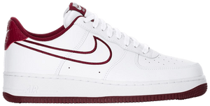 Air Force 1 Low '07 Leather 'Team Red'