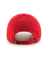 Load image into Gallery viewer, '47 Brand Red Sox Garmet Washed Red Cap Red